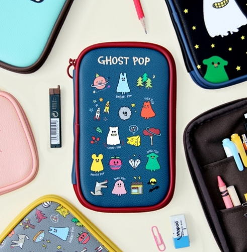 Ghostpop pencil pouch